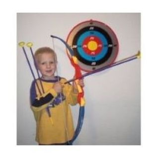 HUALI GROUP Toy Archery Bow And Arrow Set With Target -