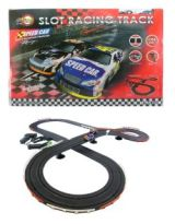 NASCAR TYPE SLOT CAR SET