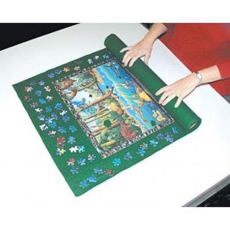 HAMMOND TOYS PUZZLE MAT 24X36 INCH GREEN FELT