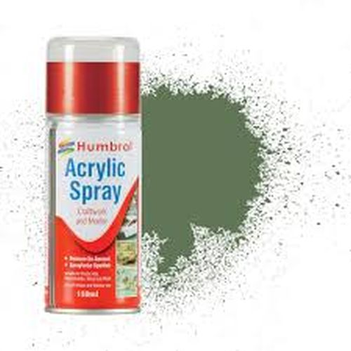 HUMBROL PAINT Grass Green Acylic Hobby Spray Paint 150 Ml - PAINT/ACCESSORY