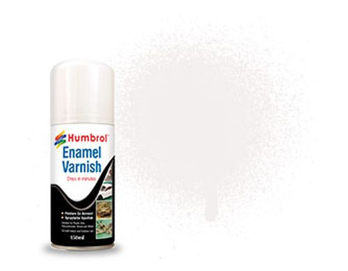 HUMBROL PAINT Enamel Satin Varnish Spray 150ml - PAINT/ACCESSORY