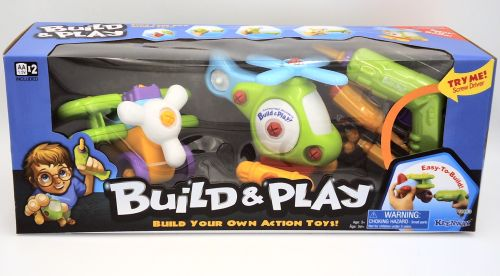 Build Your Own Action Preschool Toy