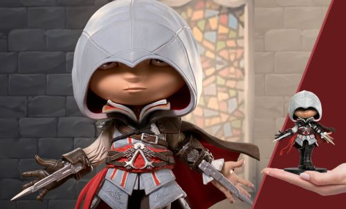 EZIO ASSASSAN CREED VIDEO GAME STATUE - 006529806703