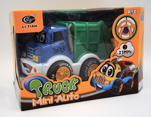 TODDLER TOYS R/c Garbage Truck Remote Control -