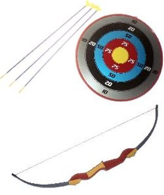 TOY BOW AND ARROW - 050237368817